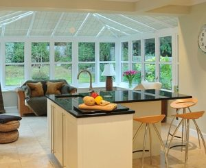 Conservatory for a Kitchen Extension